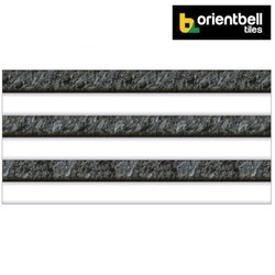 Orientbell Odh Kolam Brown Hl Glossy Digital Wall Tiles, Size: 300x600 mm