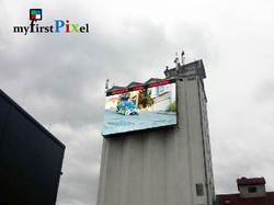 Building Roof Outdoor Led Screen Display