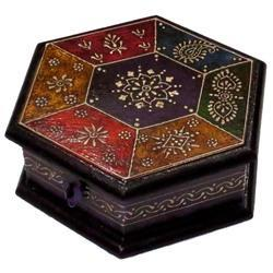Embossed Work Round Box