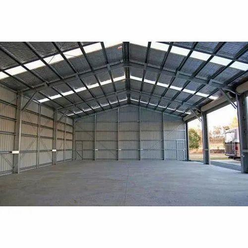 Steel Modular Waterproof Prefabricated Warehouse Shed