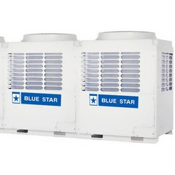 White Stainless Steel Blue Star Central Air Conditioner, For Commercial, Capacity: 2 Ton