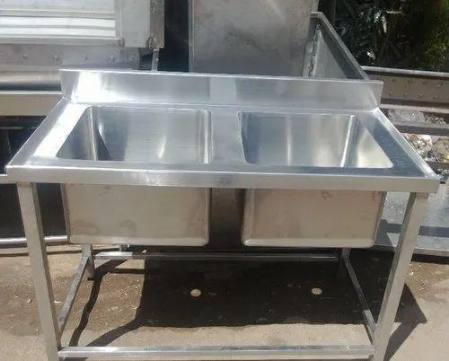 Double Bowl Commercial Kitchen Sink