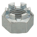 Capital Hardwares Din Galvanized Crown Nuts