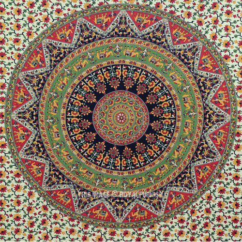 Maa Ambey Industries Fabric Wall Hangings Tapestry