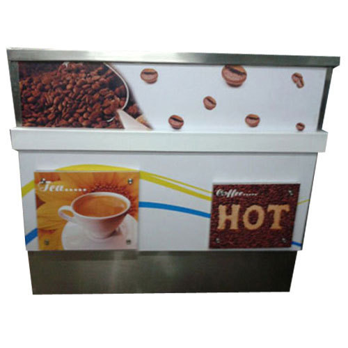 Stainless Steel 2 4 Feet Tea Coffee Counter Rs 28000