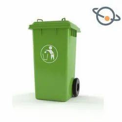 Plastic Dustbins with Wheels