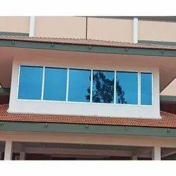UPVC Combination Window, Glass Thickness: 5-10 Mm