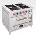 Indian Four Burner With Oven