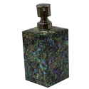 Luxury Marble Soap Dispenser with Mother of Pearl Inlayed