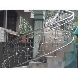 Silver Stainless Steel SS Railing
