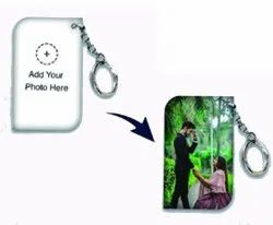 MDF Wooden Sublimation Keychain for Gift
