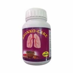 Bronko Care Capsules, Packaging Type: Bottle, for Lungs Care
