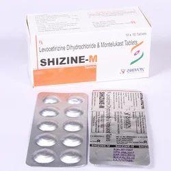 Levocetirizine 5 Mg & Montelukas 10 Mg