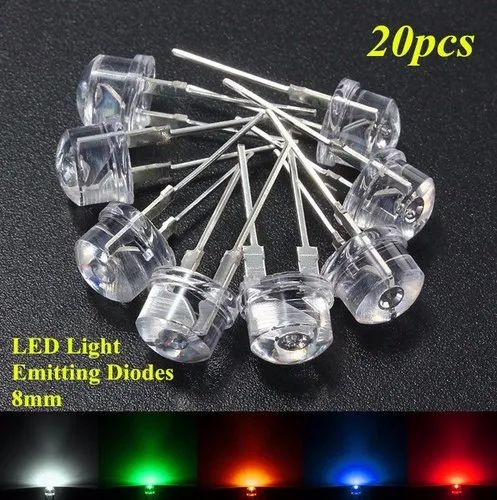 Back To Search Resultselectronic Components & Supplies United 50pcs 5mm Light Uv Purple Straw Hat Wide Angle Ultraviolet 395nm 400nm Transparent 5 Mm Light-emitting Diode Led Lamp Buy Now