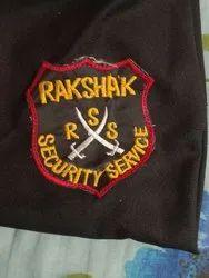 Security Guard uniform badge