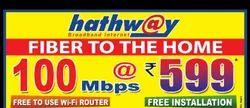 Prepaid Router Hathway Broadband, 1m To12m, 1m 2m 3m 6m12m