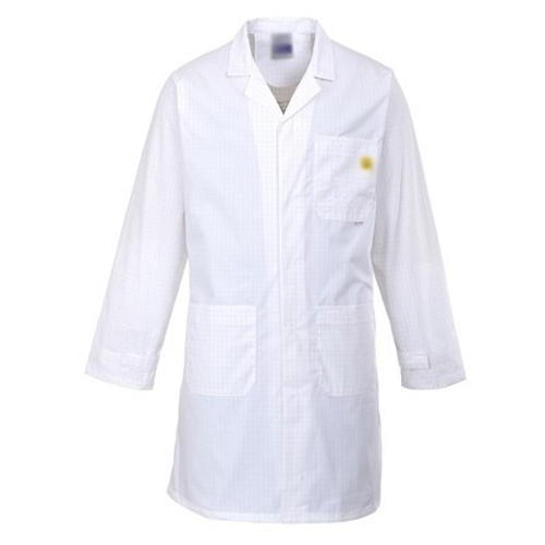 White Cotton Lab Coat, Machine wash, for Laboratory, Rs ...