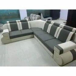 L Shape 5 Seater L Shaped Corner Sofa Set Warranty 5 Years Back