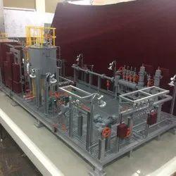 Oil Skid Exhibition Model
