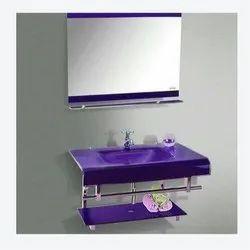 Wall Mounted Glass Wash Basin Set, for Bathroom
