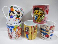 Ceremic milk mugs