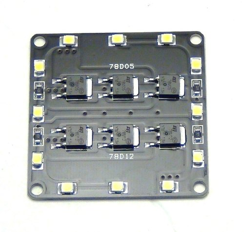 Aluminium 6 Way Power Distribution Board, Automation Grade: Automatic, 50 - 80 W