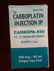 Carbopa 450 Mg (Carboplatin Injection)