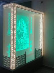 LG Hi Macs Acrylic Solid Surface Temple