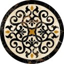 Indian Marble Inlay Coffee Corner Table Top