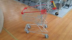 Stainless Steel And Mild Steel Supermarket Mall Trolleys