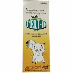 Feli-D (Cat Deworming Tablet)