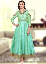 Aqua Gown