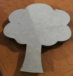 Raw MDF Cutout for Painting Art