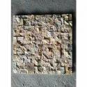 Teak Mint Pattern Mosaic Wall Cladding, 25-40mm