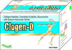 Collagen Peptides, Chondrotin Sulphate, Glucosamine with Sodium Hylarunate Tablets