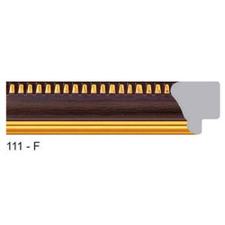111-F Series Synthetic Brown Photo Frame Molding