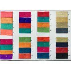 Plain Banarasi Silk Fabric, GSM: 50-100