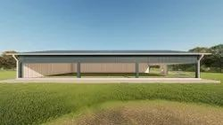 Steel Frame Structures Commercial Projects Sports Complex