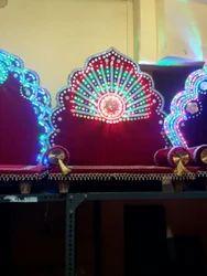 Handicraft Wedding Throne