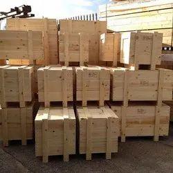 Pinewood Industrial Packaging Box