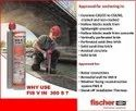 Fischer Injection Mortar FIS V 360