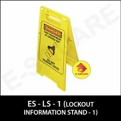Lockout Information Stand
