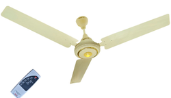 Cream Color Ceiling Fan With Remote