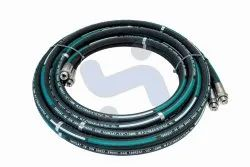 Rubber Top Breaker Hose, For Hydraulic Pipe, Size: 1 inch-2 inch