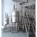 Semi Automatic Ointment Plant