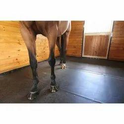 Plain Horse Stable Rubber Mat