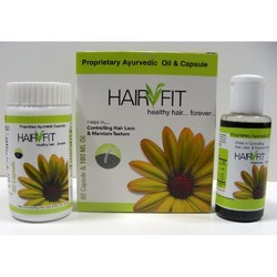 Herbal Hair Oil and Capsules Pack