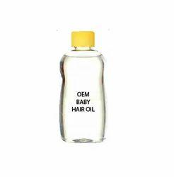 Transparent Liquid Baby Hair Oil, Packaging Type: Bottle