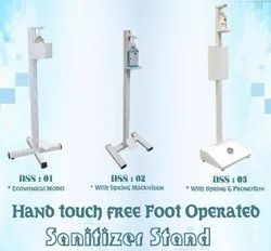 Foot Operator Hand Sanitizer Stand