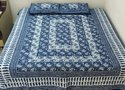 Indigo Blue Double Bedsheets